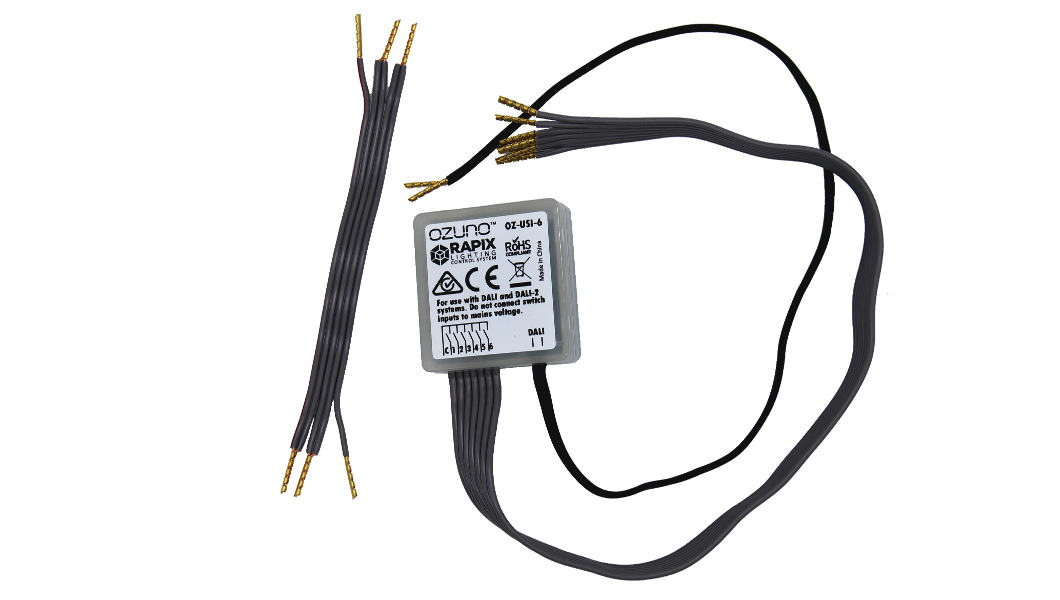 RAPIX DALI Universal Switch Input
